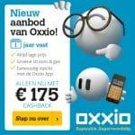 175 EURO cshback Oxxio