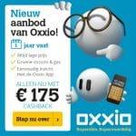 175 Euro Cashback bij Oxxio