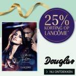 25% Korting op Lancome