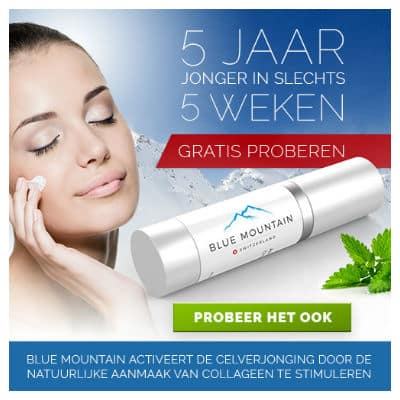Gratis proefmonster Blue Mountain Skincare