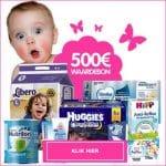 Maak kans op gratis babyproducten