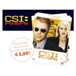 CSI Miami, volledig eerste seizoen voor € 5,95