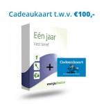 Gratis cadeaukaart Bol.com 100 EURO