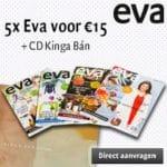 Gratis CD Kinga Ban bij EVA