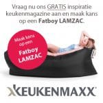 Gratis keukenmagazine Fatboy Lamzac