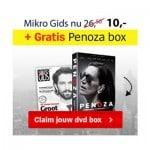 Gratis Penoza DVD box seizoen 1 t/m 3