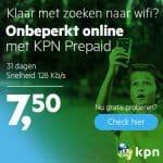 Probeer gratis KPN Prepaid Onbeperkt Online
