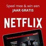 Win een jaar gratis Netflix