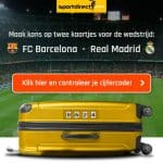 Win kaartjes FC Barcelona-Real Madrid