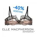Korting op Elle Macpherson lingerie
