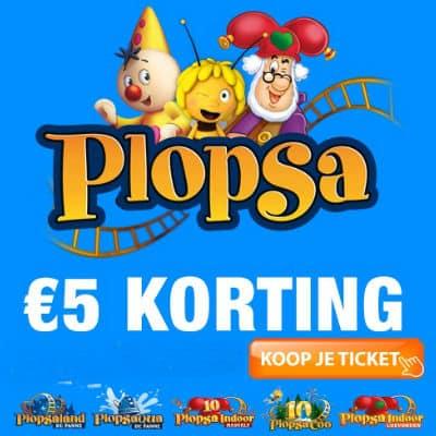 Korting Plopsa park