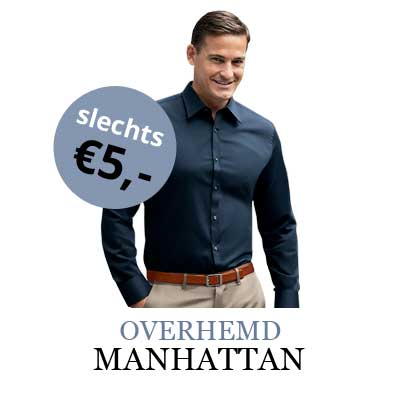 Overhemd 5 euro