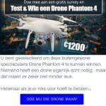 Test en win de Drone Phantom 4