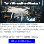 Test en win de Drone Phantom 4