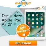 Testers iPad Air 2 gezocht