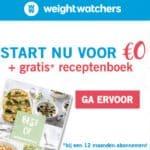 Gratis receptenboek Weight Watchers