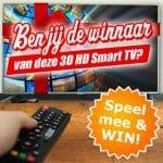 Win een gloednieuwe 3D HD TV