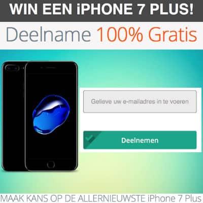 Wil jij een iPhone 7 P...