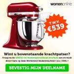 Win Een KitchenAid Keukenmachine
