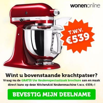 Win Een KitchenAid Keukenmachine