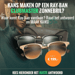 Win een Ray-Ban Clubmaster