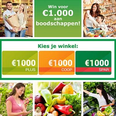 Win een Supermarkt Waardebon