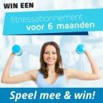Win een Fitnessabonnement